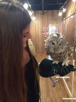 Lucky to hold an Owl